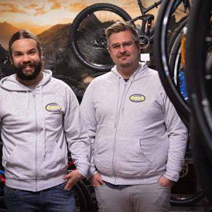 Cykelcentralen - Fredrik, Anders. Köpa cykel, hyra cykel, laga cykel
